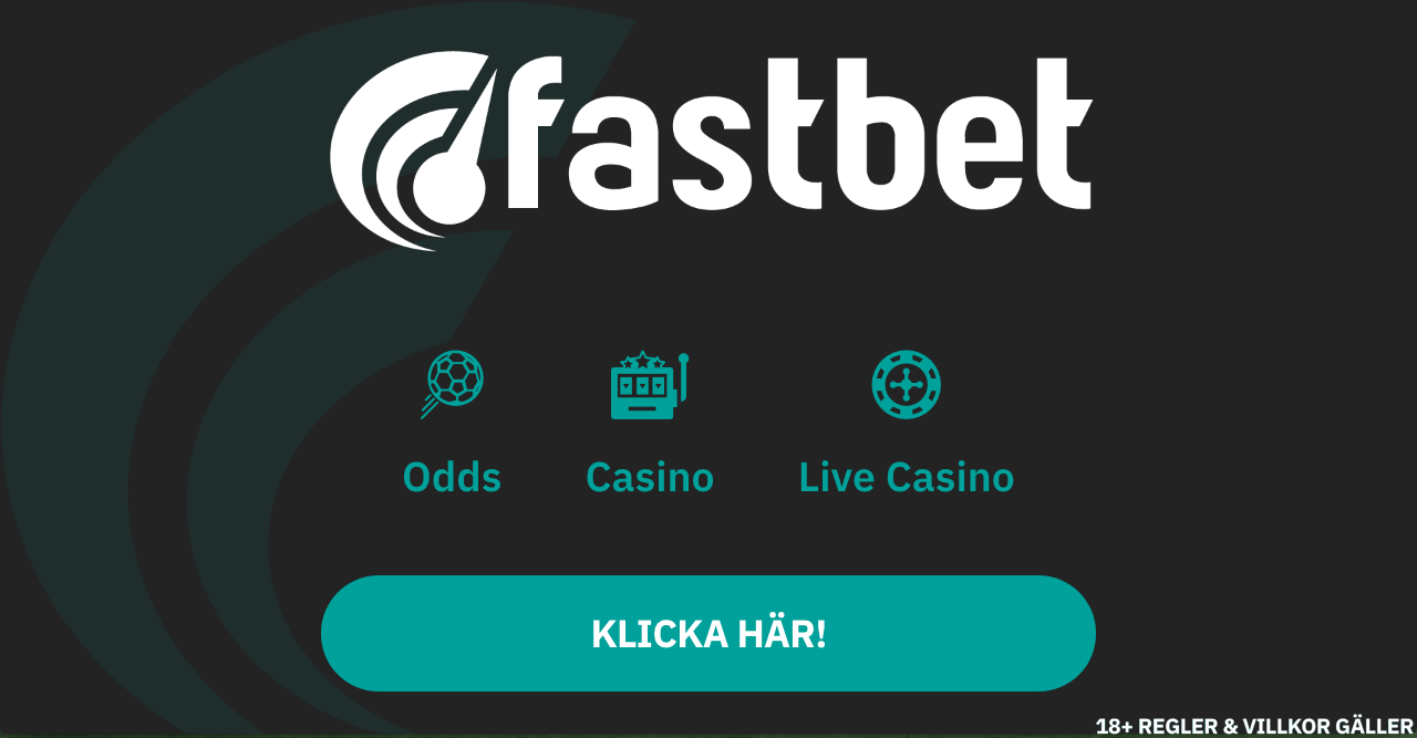 Fastbet bonuskod 2018