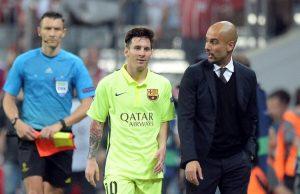 Guardiola slår tillbaka Aldrig försökt värva Messi