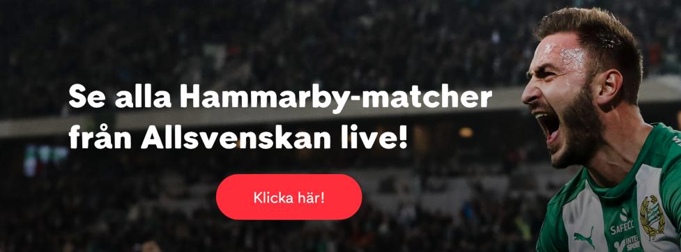 Hammarby live stream gratis? Streama Hammarby stream live online!