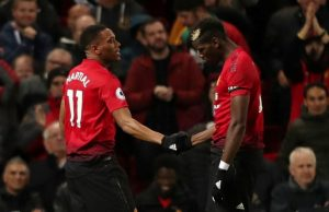 Mourinho Hoppas Martial stannar
