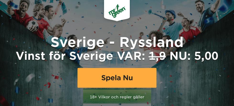 Sverige Ryssland stream gratis