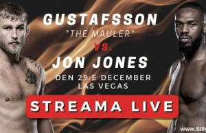 UFC 232 Alexander Gustafsson vs Jon Jones Fight Card 2018