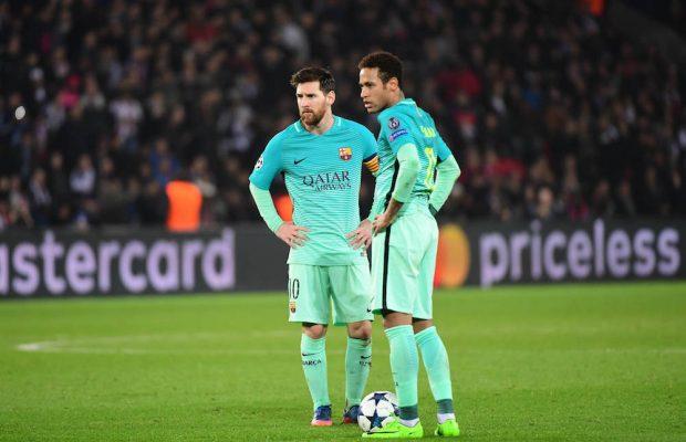 Uppgifter: Messi vill se Neymar tillbaka i Barcelona