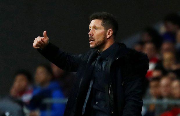 Uppgifter: Simeone förlänger med Atletico Madrid