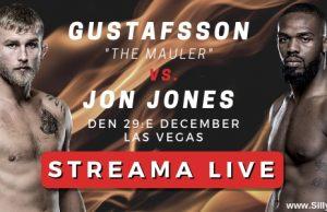 Alexander Gustafsson vs Jon Jones live stream gratis? Streama UFC 232 live!