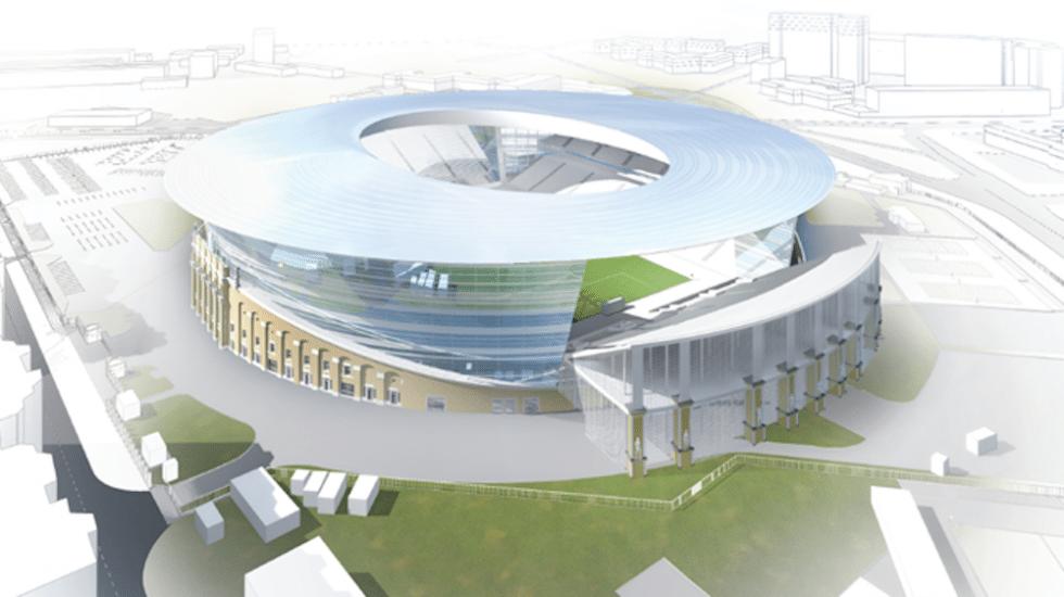 Arenor VM 2018 - Central Stadion