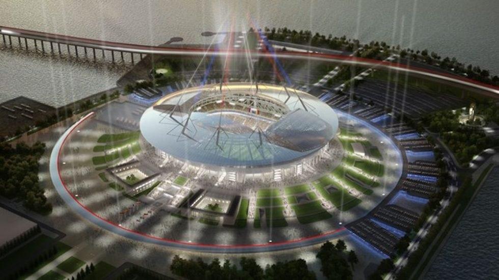 Arenor VM 2018 - Krestovskij stadion