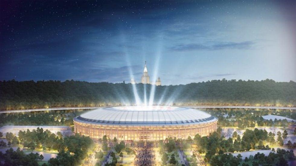 Arenor VM 2018 - Luzjnikistadion