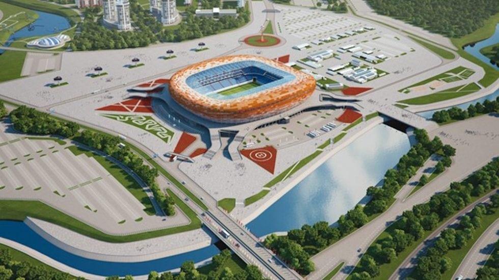 Arenor VM 2018 - Mordovinien Arena