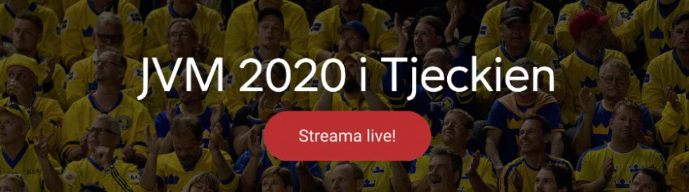 JVM Hockey live stream gratis? Streama Junior VM ishockey live streaming online!