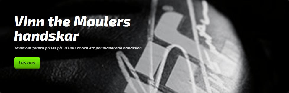Mobilebet The Mauler - vinn the Maulers handskar!