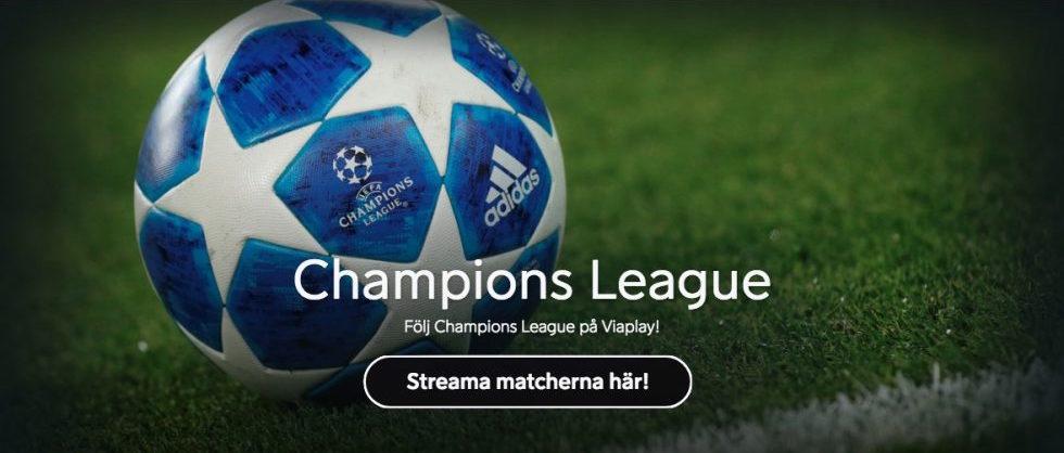 Spelschema Champions League åttondelsfinaler