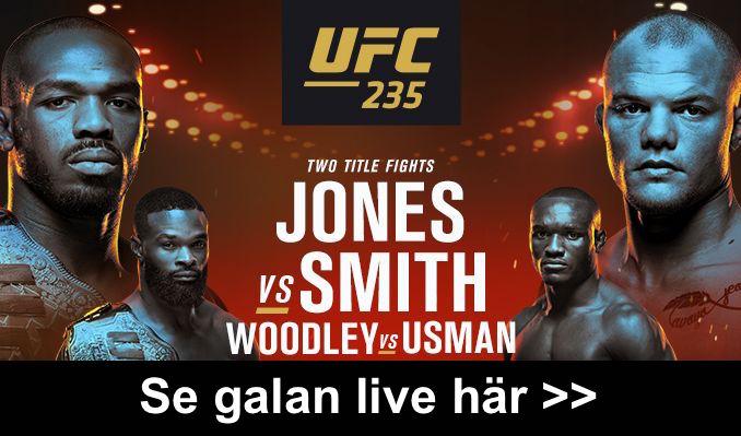 UFC på TV i Sverige 2019 - vilken svensk kanal, tid & sändning inatt?
