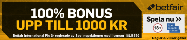 Betfair bonus gratisspel