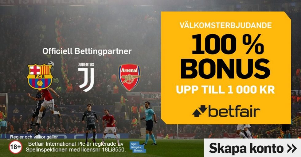 Betfair recension