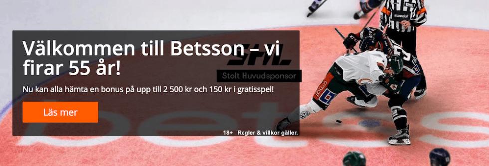 Betsson bonuskod