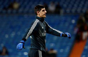 Courtois uppmanar Hazard att skriva på för Real Madrid