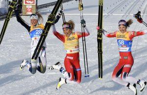 Frida Karlsson silver 10 km klassiskt - VM längdskidor - Skid VM 2019 Seefeld