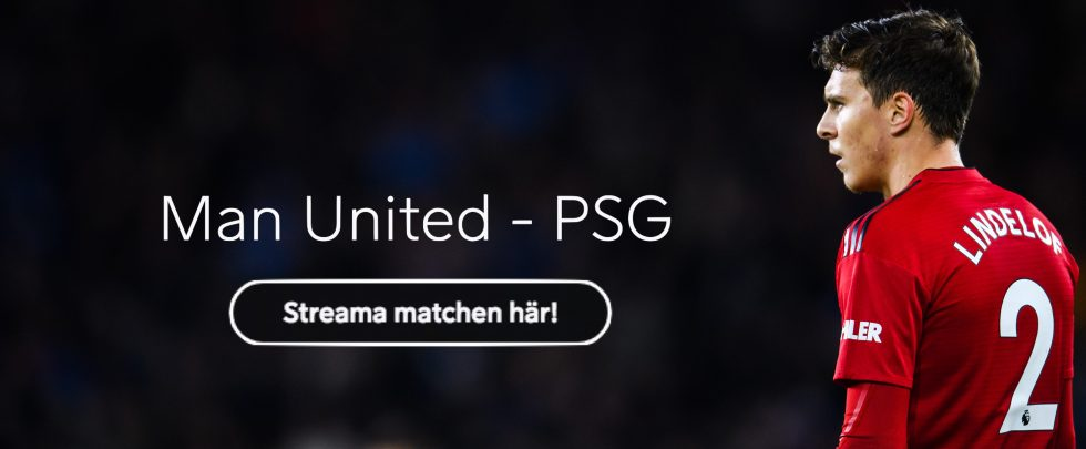 Manchester United PSG Vilken kanal