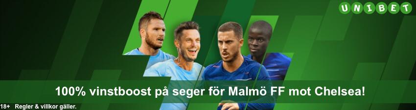 Speltips Malmö FF Chelsea