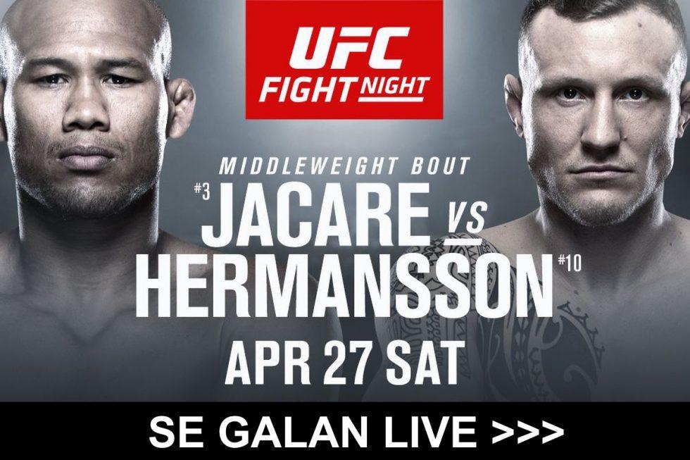 UFC på TV i Sverige 2019: vilken svensk kanal, tid & sändning inatt?