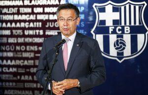 """Barcelona-presidenten bekräftar: """"Intresserade av De Ligt"""""""