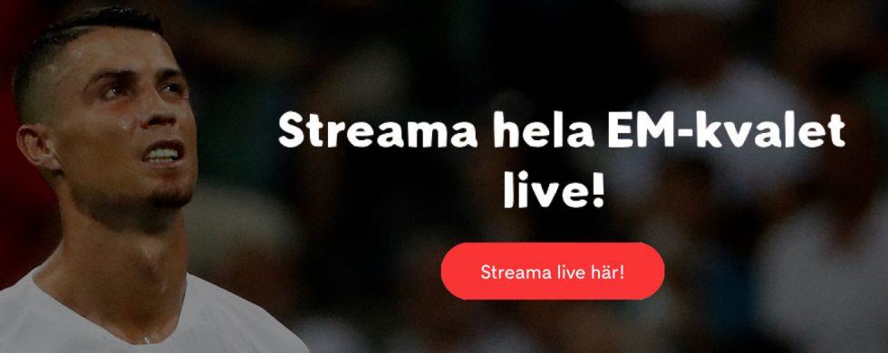 Streama EM-kval live stream gratis: se Sverige EM-kval 2019 streaming!