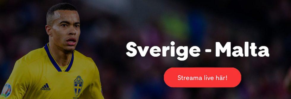 Sverige Malta på TV