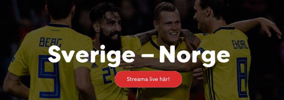Sverige Norge live stream
