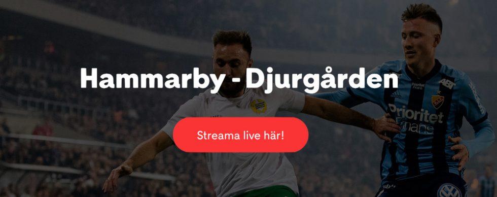 Hammarby Djurgården stream 2019