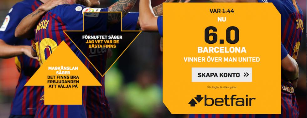 Manchester United FC Barcelona TV kanal: vilken kanal visar Man United Barca på TV?