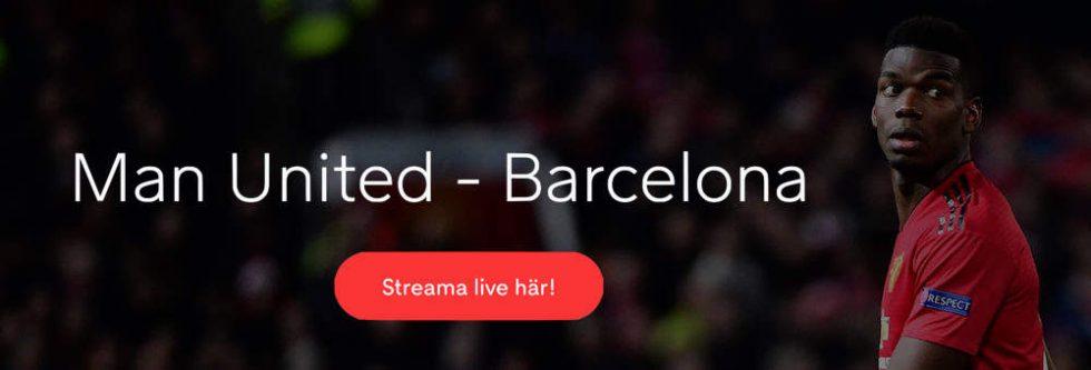 Manchester United FC Barcelona TV kanal