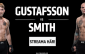 TV tider Gustafsson vs Smith