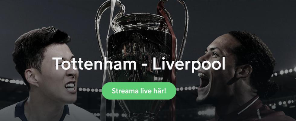 Tottenham Liverpool stream
