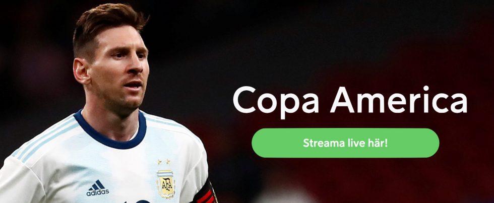 Se Copa America 2019 gratis online