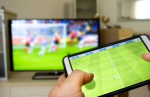 Streama fotboll i mobilen