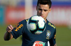 Uppgifter: Coutinho närmar sig spel i PSG till hösten