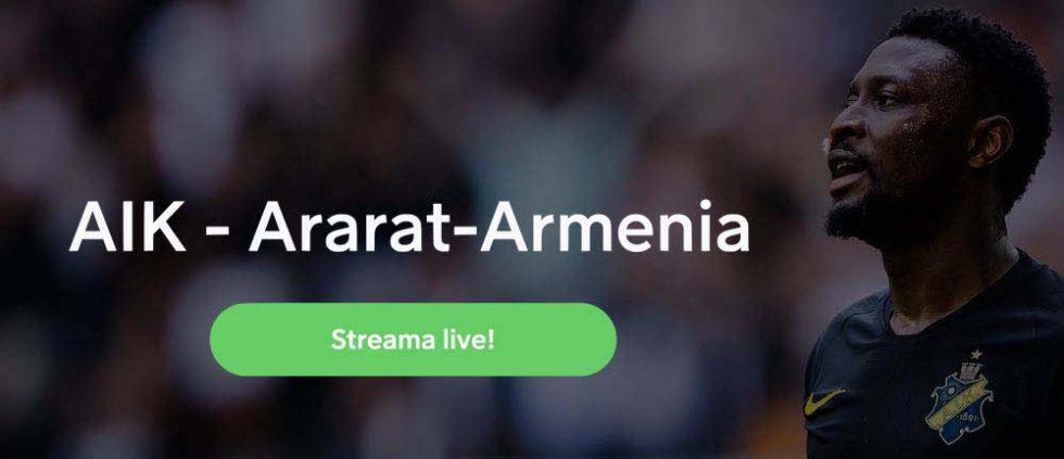 AIK Ararat TV kanal- vilken kanal visar AIK Ararat Armenia på TV?