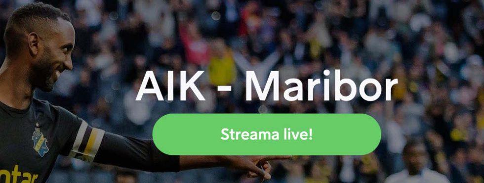 AIK Maribor TV kanal: vilken kanal visar AIK NK Maribor på TV?