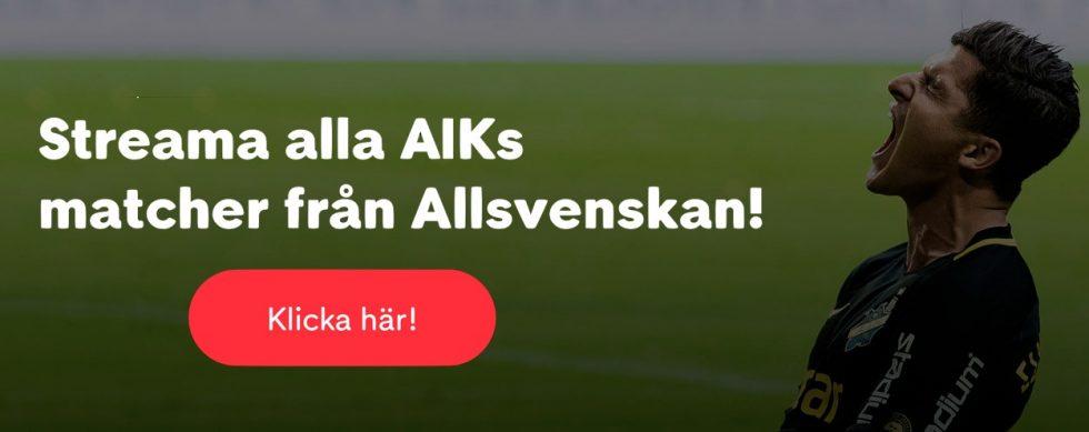 AIK Sirius live stream gratis
