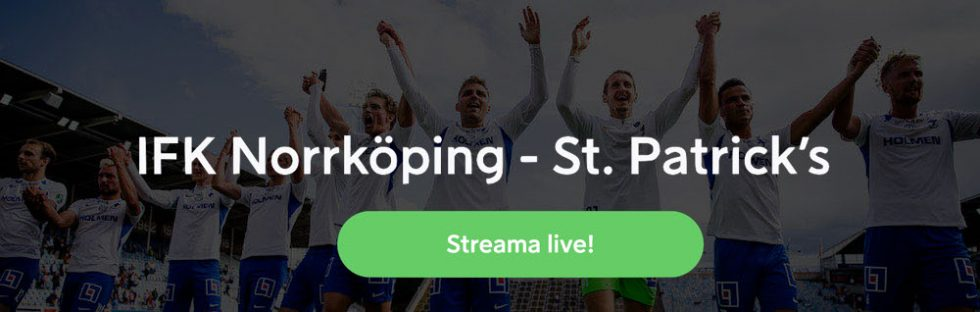 IFK Norrköping St Patricks stream Europa League