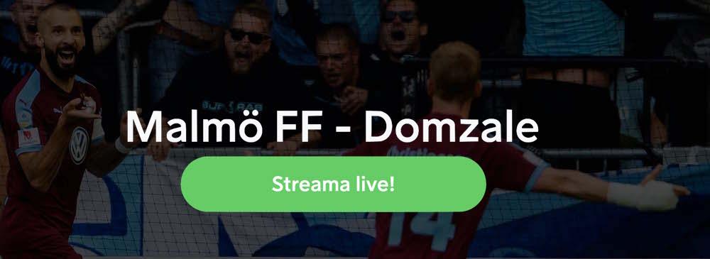Malmö FF Domzale TV kanal