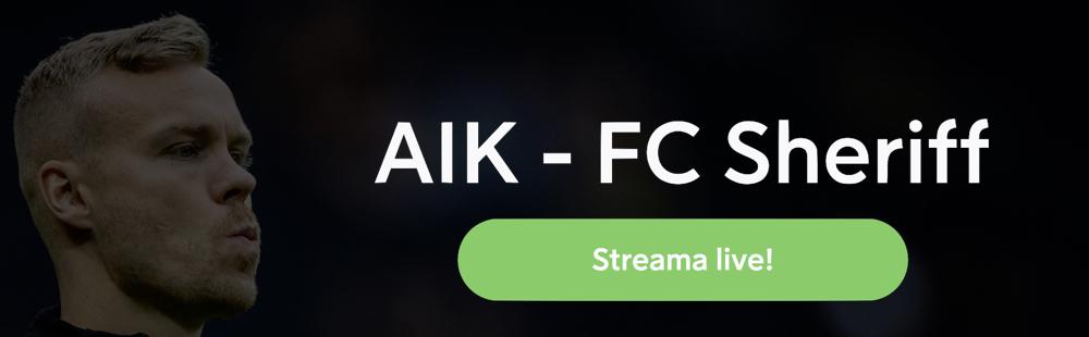 AIK FC Sheriff TV kanal
