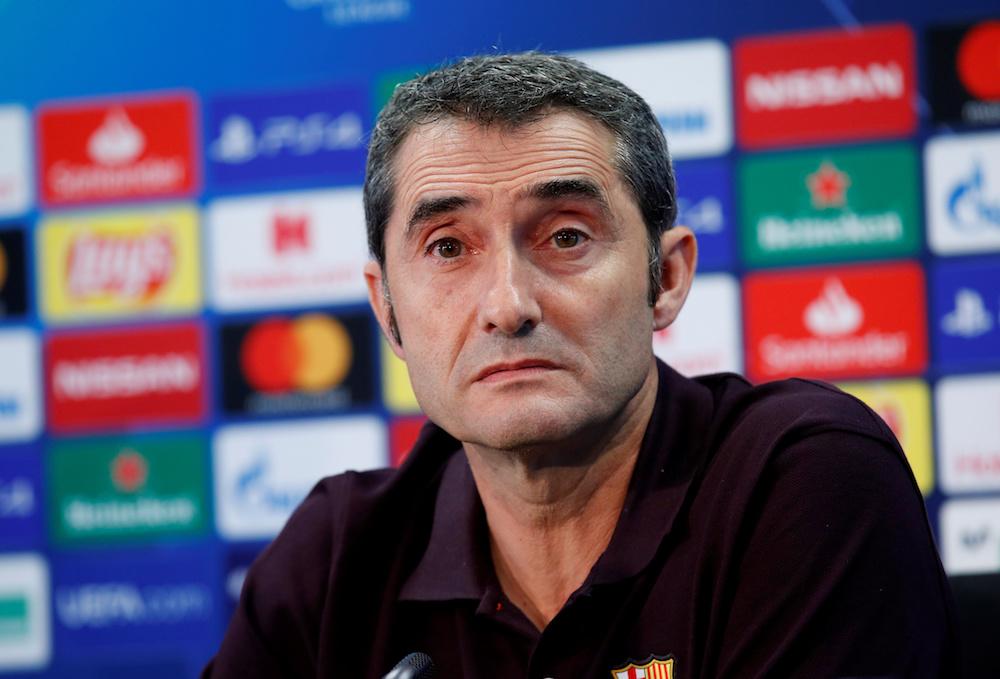 Uppgifter: Barcelona letar ny tränare till vintern