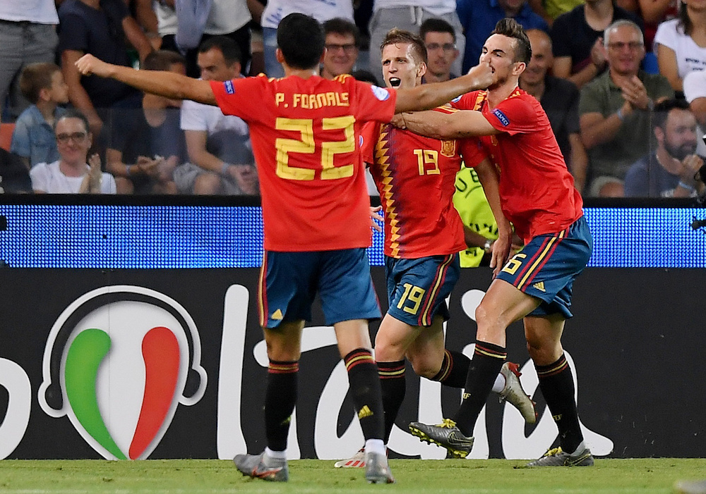 Uppgifter: Barcelona och Real Madrid gör upp om Fabián Ruiz