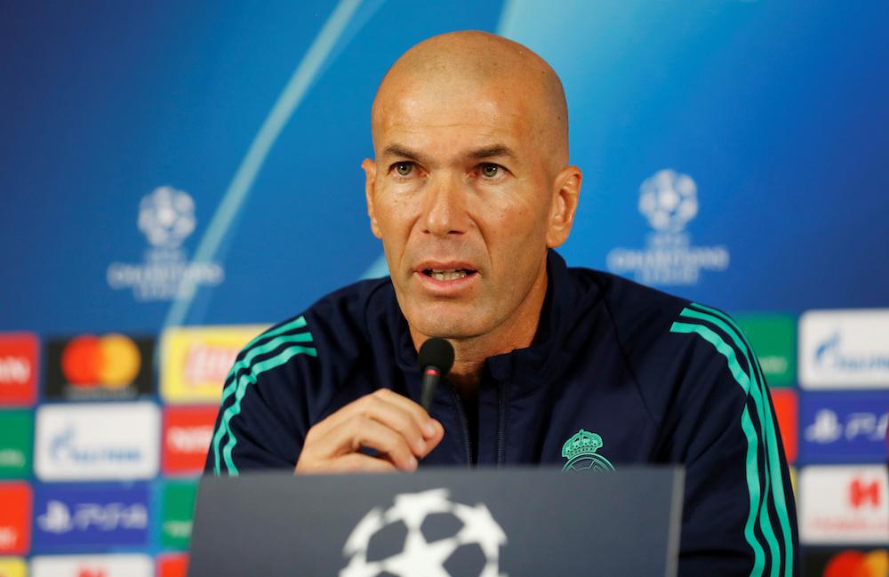"""Zidane nära att få sparken från Real Madrid: """"Vill stanna för evigt"""""""