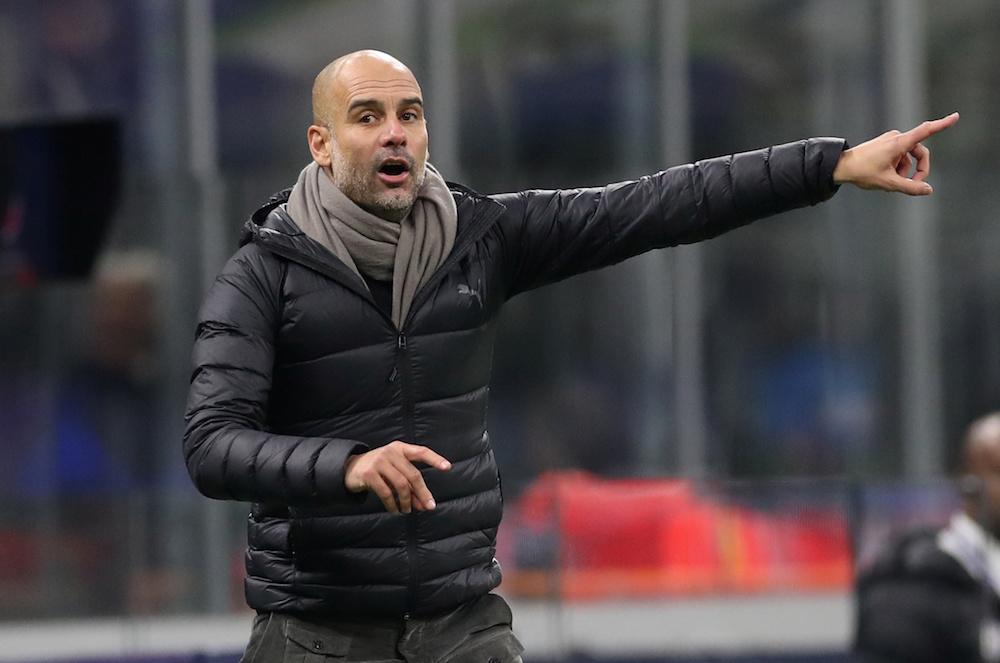 Pep Guardiola öppnar för Serie A