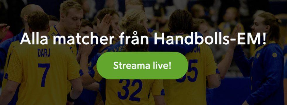 TV tider Handbolls EM 2020 herrar - TV-kanaler & TV-tablå - vilken kanal visar handbolls-EM 2020?