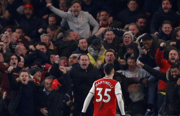 Arsenal vill förlänga med Martinelli