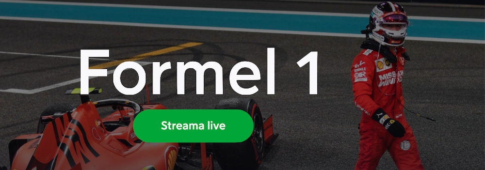Formel 1 på TV idag - se F1 gratis på TV, nätet, live stream & TV-tablå Sverige!